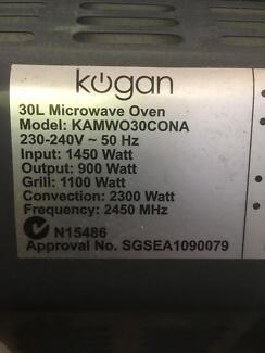 Microwave Oven Kogan 30L