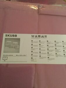 IKEA SKUBB  shoe boxes