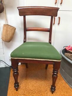 Edwardian set of six chairs