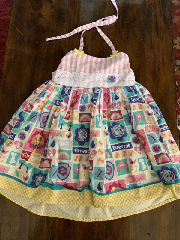 Nicole Rose Size 3t Paw Patrol Girls Boutique Dress Handmade