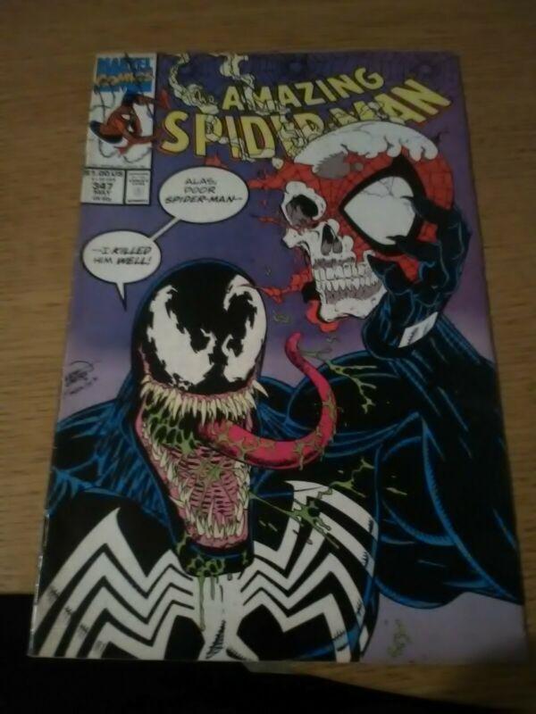 Amazing Spider Man 347!Venom!