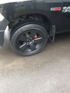 "20"" Ram 1500 tires and rims"
