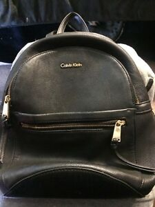 Leather Calvin Klein bag
