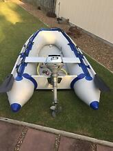 Inflatable boat with outboard Urangan Fraser Coast Preview