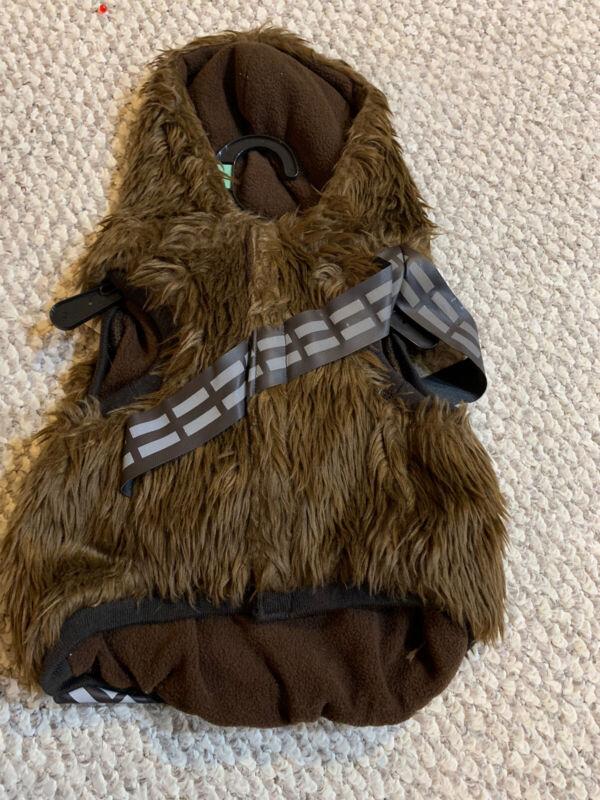 Petco Star Wars Dog Reflective Hoodie Chewbacca Costume Small NWT Chewie