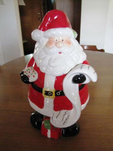Santa Ceramic Cookie Jar (Cheryl