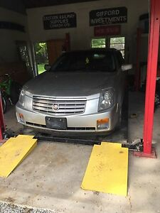 2004 Cadillac CTS  part out .