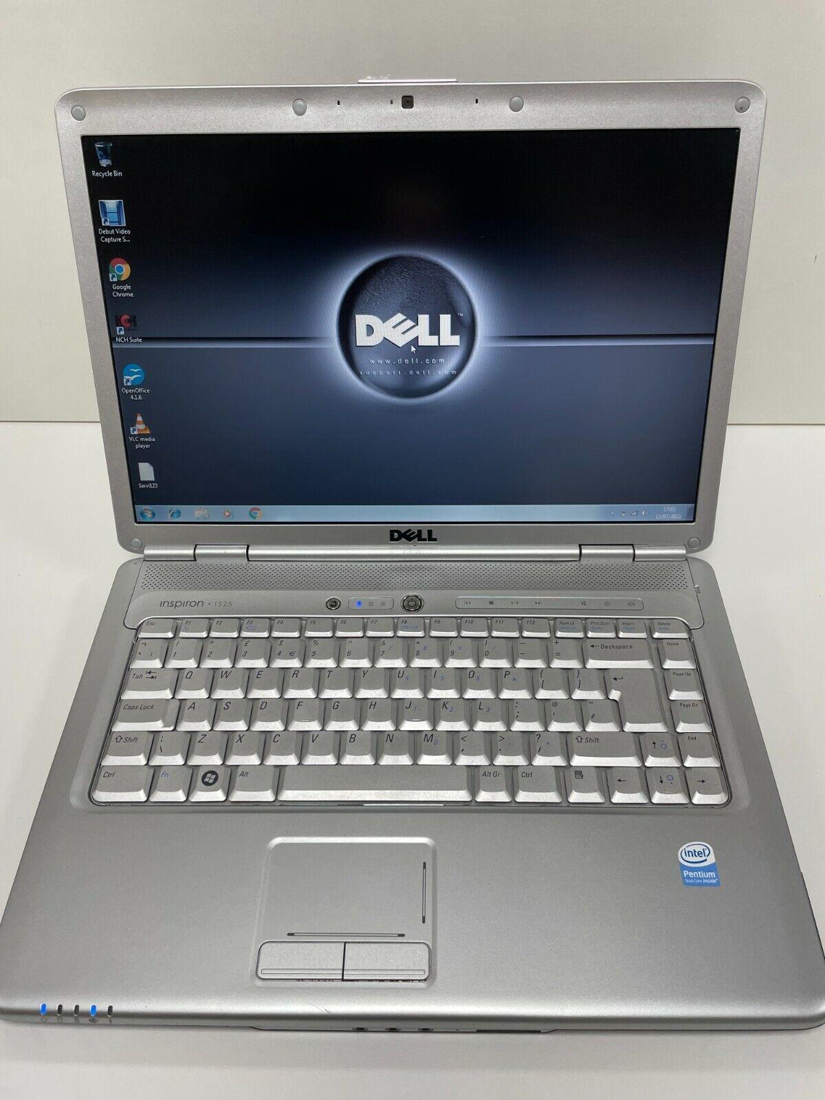 Laptop Windows - Dell Inspiron 1525 Laptop Windows 7 home premium