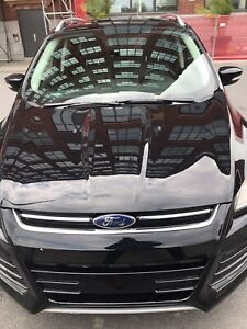 2016 Ford Escape Titanium AWD, cuir, toit pano, Car Play