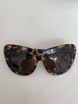House Of Harlow 1960 Chelsea Oversized Cat Eye Tortoisehell Sunglasses
