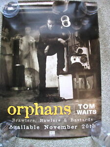 Tom Waits - Orphans - PROMO POSTER