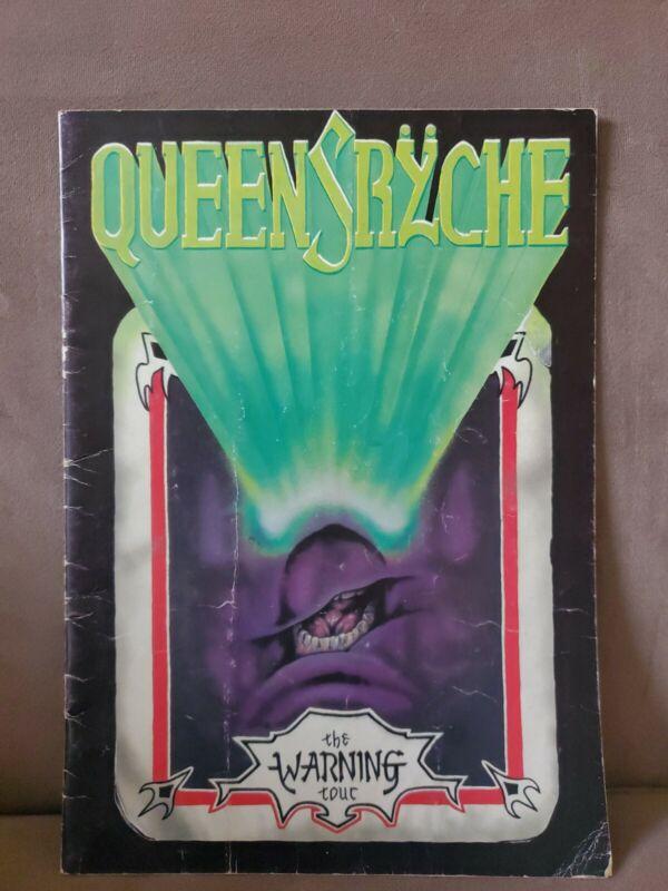 Queensryche The Warning Concert Tour Program
