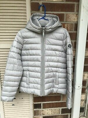 Abercrombie Fitch Women's Puffer Coat gray size L