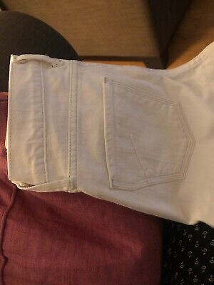 James Jeans - Dry Aged Denim - Cured by Seun.  White Size 26