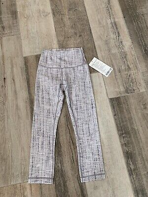 Lululemon Wunder Under HR Crop Size 2 Jac