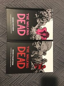 The walking dead books 14 and 15