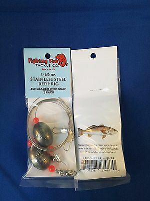 saltwater fishing live bait rig , bulk lot.  stainless rigs, wholesale , 1 1/2oz
