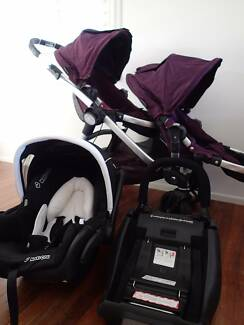 Baby Jogger City Select, Double pram with Mico Capsule $720/$580 Everton Hills Brisbane North West Preview