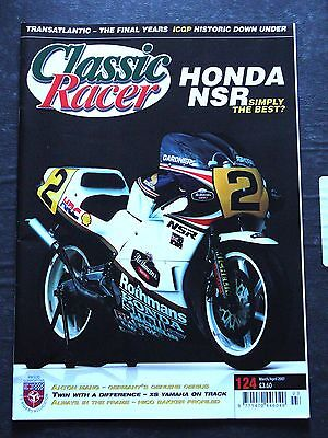 Classic Racer, M / A 2007, 124 – Honda NSR, Anton Mang, Yamaha XS, Transatlantic