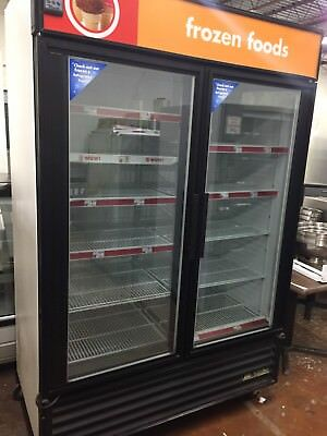 True Gdm-49f Freezer Glass Double Doors