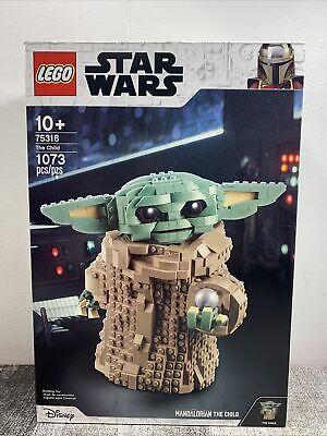 Brand New Sealed Lego Star Wars Mandalorian: The Child 75318 Baby Yoda