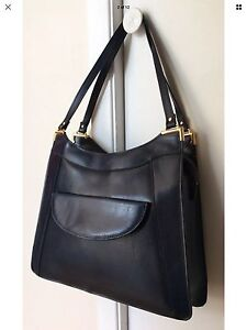 Sac à main en cuir fait Italy leather purse bag marine navy blue