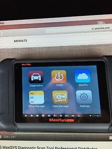NEW AUTEL MS906TS FULL DIAGNOSTIC TOOL WITH FULL TPMS