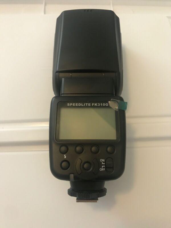 DSLR Camera Powerextra Flash Speedlite FK310G for Nikon/Canon/Pentax/Fuji/Sony