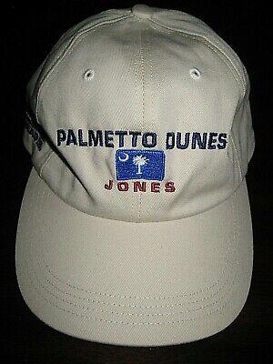 Hilton Head (EUC- Hilton Head Palmetto Dunes- Robert T. Jones Golf Hat by AHEAD- Mint Cond.)