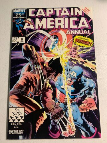 Captain America Annual #8 HIGH GRADE