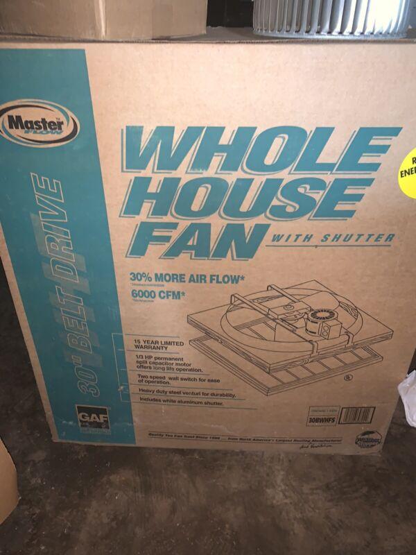 whole house fan