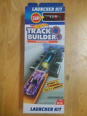 Mattel Hot Wheels Track Builder System Launcher Kit WIth Car New In Box