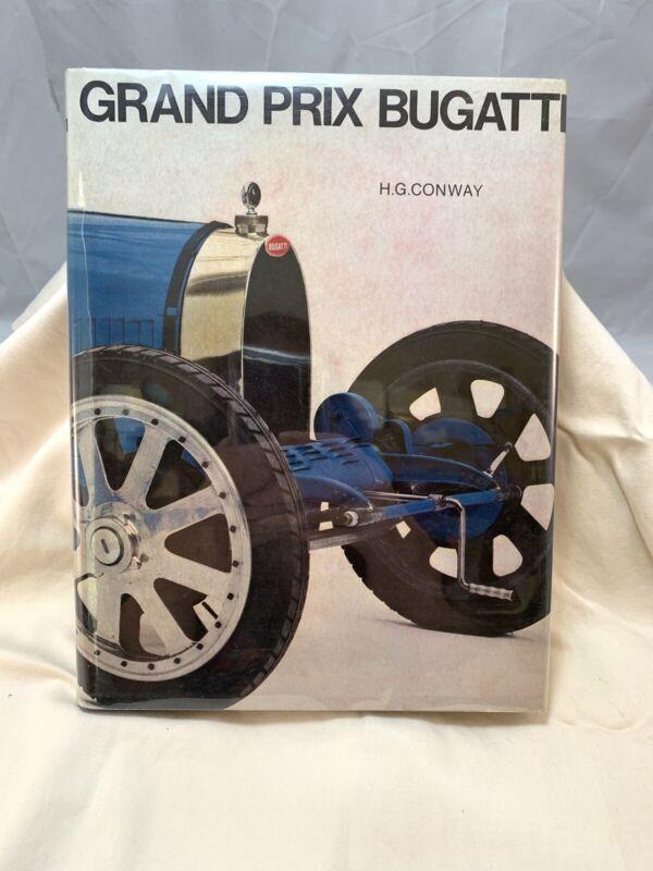 Grand Prix Bugatti by H. G. Conway (1968, Hardcover)