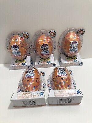5 My Little Pony Cutie Mark Crew Beach Day Series 4 Confetti Figure New In Box