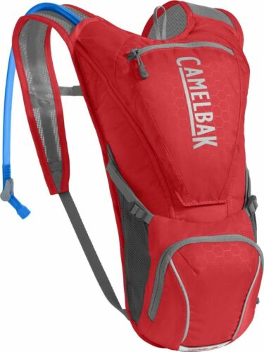 CamelBak Rogue 85 OZ / 2.5L Bike MTB Hydration Backpack Red/Silver *BRAND NEW*
