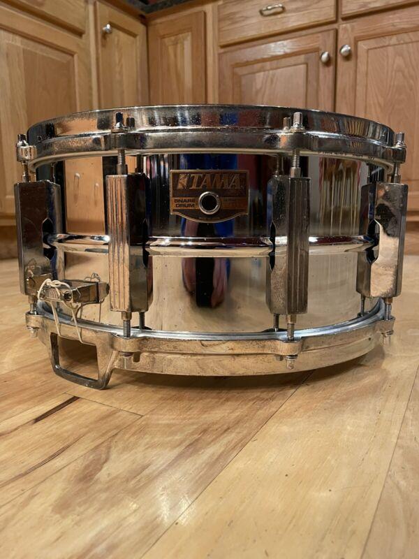 """Tama Artstar Steel Snare Drum With Die Cast Hoops 6.5""""x14"""""""