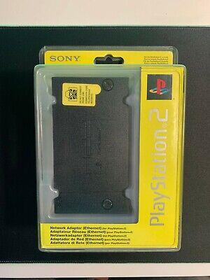 SONY Network Adaptor OFFCIAL Ethernet Adaptador de Red Oficial PS2 PlayStation 2