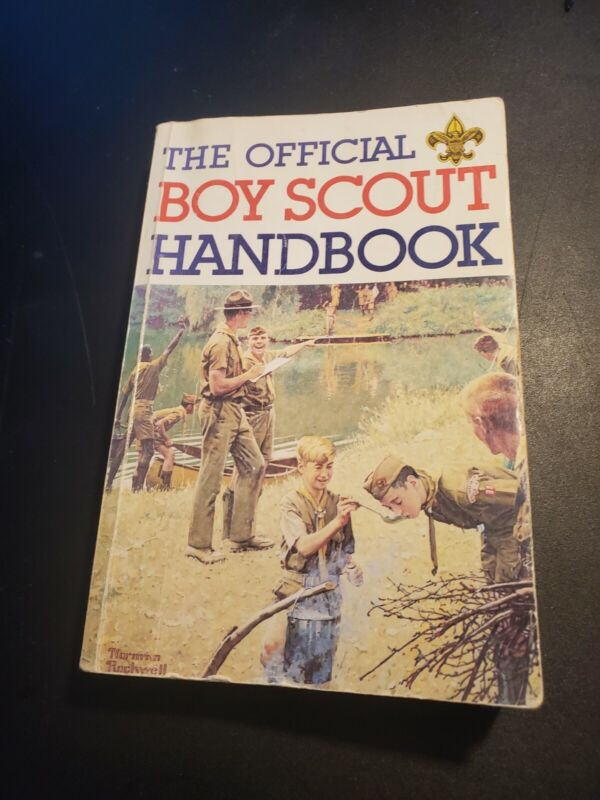 The Official Boy Scout Handbook  1979.