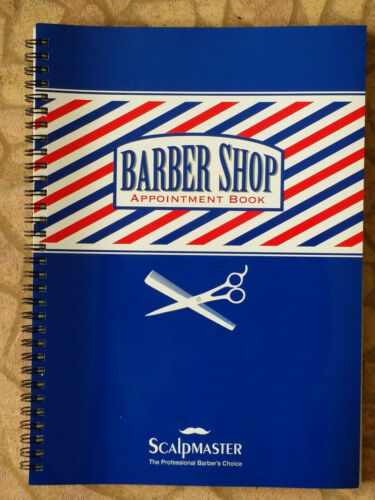 3 Column Barber Appointment Book For Hair beauty Salon NEW FREE SHIP