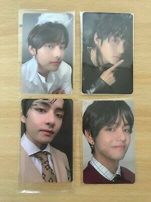 BTS MAP OF THE SOUL OFFICIAL TAEHYUNG PHOTOCARD SET