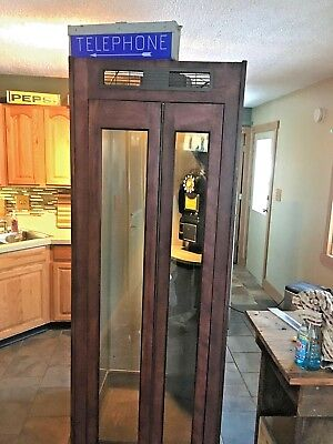1957 Western Electric Bell System Payphone Phone and Telephone Phone Booth