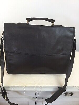 Hidesign Brown leather laptop satchel