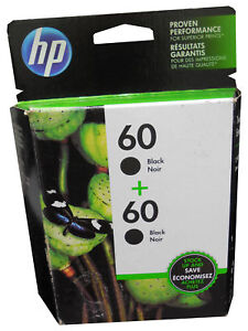 HP 60 Ink Cartridges 2 Pack Combo Black and Color Expires Ma