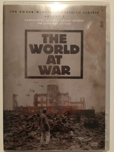THE WORLD AT WAR Volume 6 Holocaust End Germany Pacific Japan Thin Case DVD - $6.95