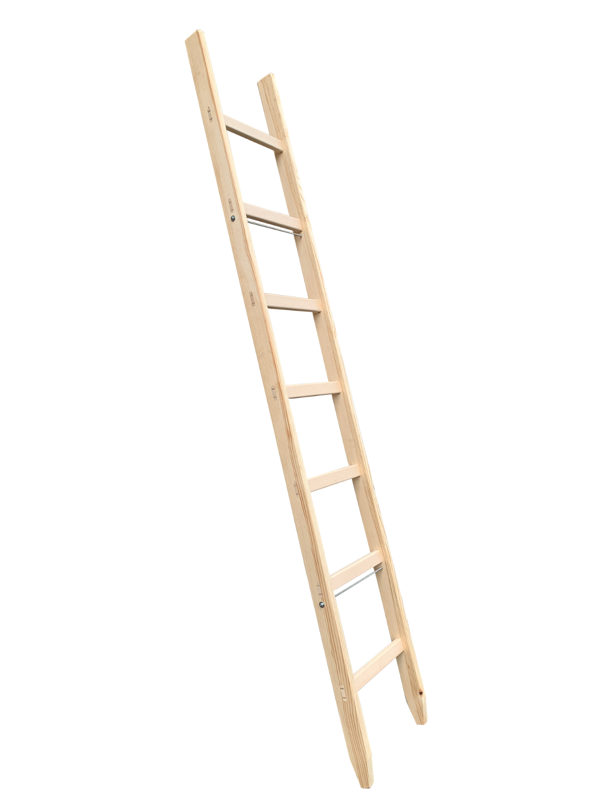 Details about New Traditional Single Wooden Ladder Vintage DIY & Decoration  Display Ladders