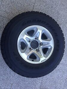 Toyota Landcruiser 76 79 series GXL alloy wheel Wembley Downs Stirling Area Preview