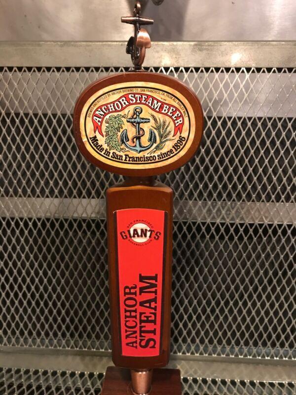 SAN FRANCISCO GIANTS Baseball ~ RARE ~ Anchor Brewing STEAM BEER ~ Tap Handle