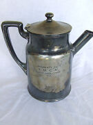 Art Deco Coffee Pot Silver