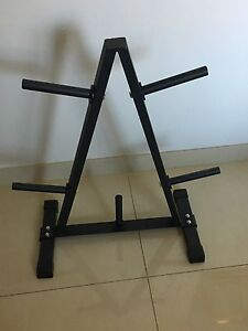Olympic Weight Tree Bar Rack Greenacre Bankstown Area Preview