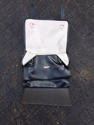 Brooks Vintage saddle bag in black leather Moulton Brompton